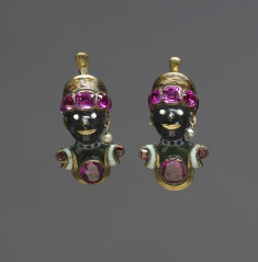 Earring with Head of an African