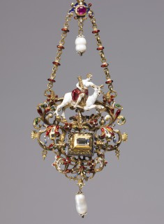 Pendant with a Personification of Fortitude