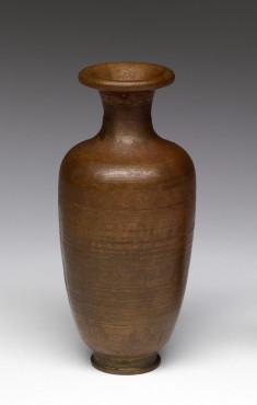 Enamel Vase Depicting a Stage of Cloisonné Enamelling Process (1 of 8)