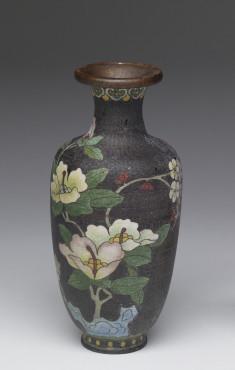 Enamel Vase Depicting a Stage of Cloisonné Enamelling Process (6 of 8)
