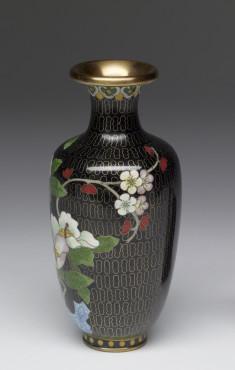 Enamel Vase Depicting a Stage of Cloisonné Enamelling Process (8 of 8)