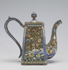 Coffeepot with Acquatic Decoration
