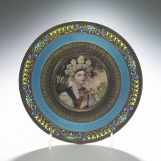 Plate with Bride