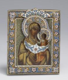 Kazan Mother of God Icon with Oklad