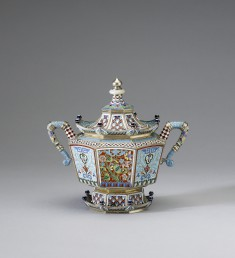 Sugar Bowl from a Chinoiserie Coffee Service
