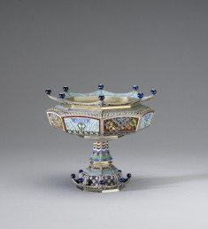 Waste Bowl from a Chinoiserie Coffee Service