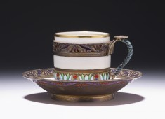Demitasse and Saucer