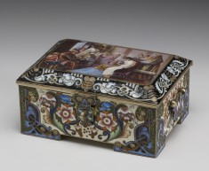 Casket with Miniature: The Bride's Attire