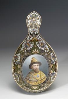 Kovsh with Image of Tsar Mikhail