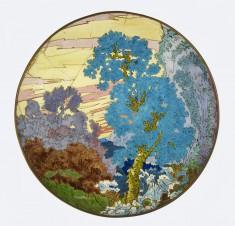 Bowl with Landscape