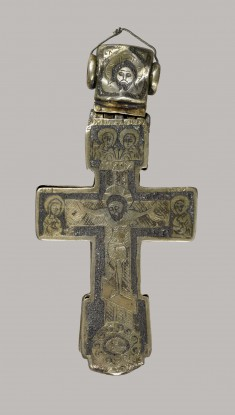 Pectoral Cross with the Crucifixion and Six Saints