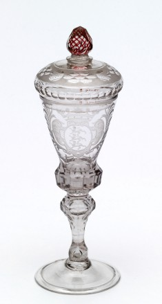Covered Goblet with Coat of Arms