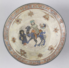 Bowl with Rider on Camel