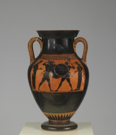 Amphora with Scenes of Combat