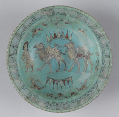 Bowl with Camels and Birds