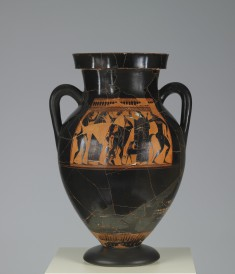 Amphora with Scenes of the Hermes and Dionysus