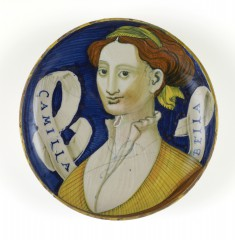 "Dish with the ""Beautiful Camilla"""