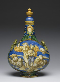 """Pilgrim Flask"" with Mercury and Psyche"