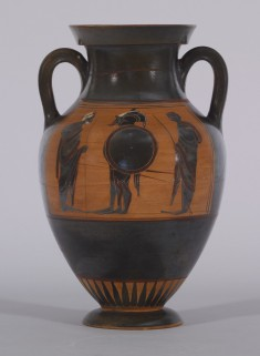 Amphora with Departure Scene and Quadriga