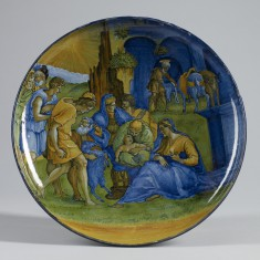 Dish with the Adoration of the Shepherds