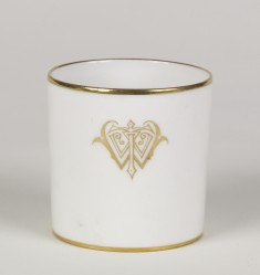 Coffee Mug with the Monogram of William T. Walters