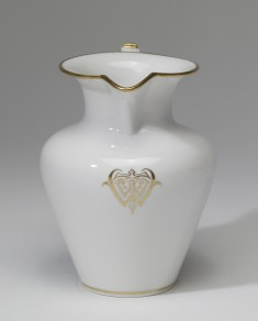 Cream Pitcher with William T. Walters Monogram
