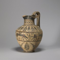 """Oinochoe in the Camirus, or """"Wild Goat"""" Style"""