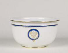 Chamber Pot with William T. Walters Monogram