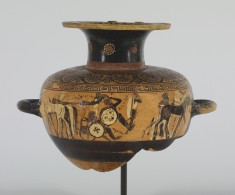 Hydria with the Fight of Achilles and Memnon