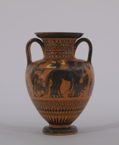 Amphora with Departure Scene