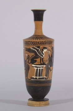 Lekythos with Sphinx on a Pedestal