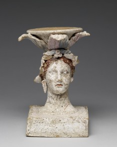 Incense Burner in the Form of a Female Head