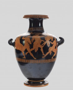 Hydria with Hermes Pursuing a Youth