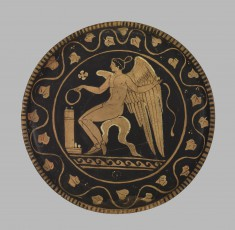 Plate with Eros