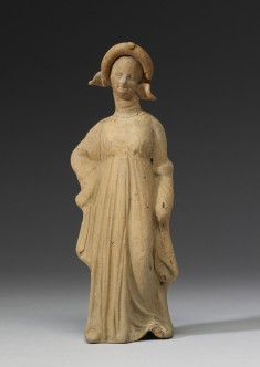 Draped Maiden with Wreath