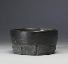 Bowl with Carved Design