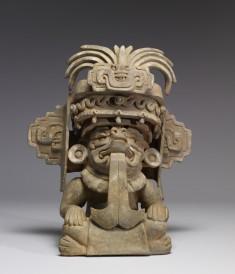 Figural Urn of Cocijo (Cociyo)