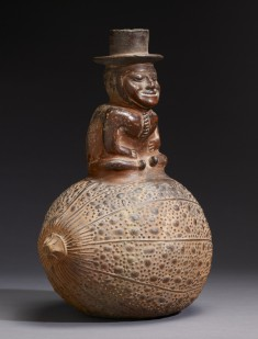 Vessel of Spirit Man on Gourd