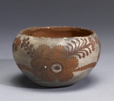 Bowl with Flower Motif