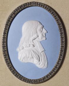 Medallion of John Wesley