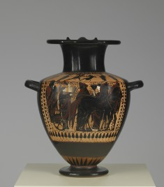 Hydria Depicting a Wedding Procession