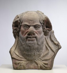 Antefix with Head of Silenus
