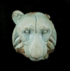 Appliqué: Head of a Lion