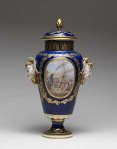 One of a Pair of Vases (Vase à bandes)