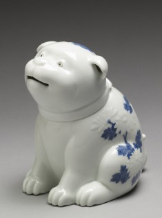 "Incense Burner (""Koro"") in Form of a Dog"