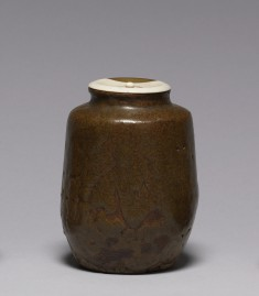 "Tea Caddy in ""Katatsuki"" (Shouldered Jar) Form"