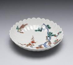 Dish with Kakiemon Enamels