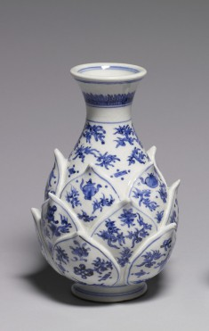 Vase with Lotus Blossom Base