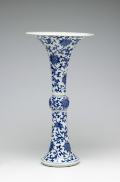 """Vase in the Shape of a """"Gu"""""""