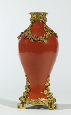 Vase with a Grapevine Motif
